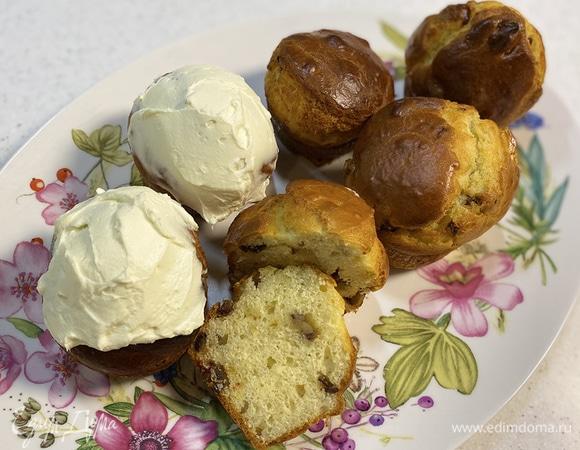 Кексы с финиками и имбирем
