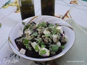Свекольный салат с ореховой заправкой