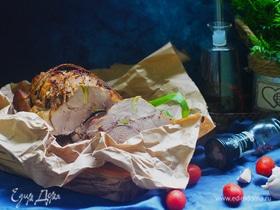 Буженина, маринованная в яблочном соке