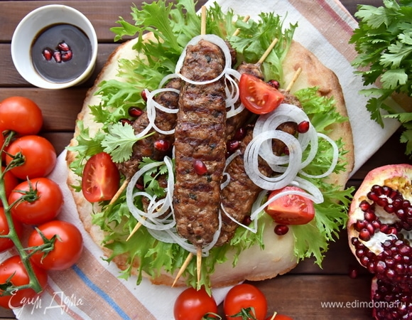 Люля-кебаб на гриль-сковороде