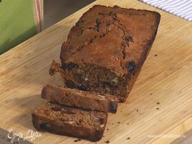 Сладкий хлеб с орехами и изюмом
