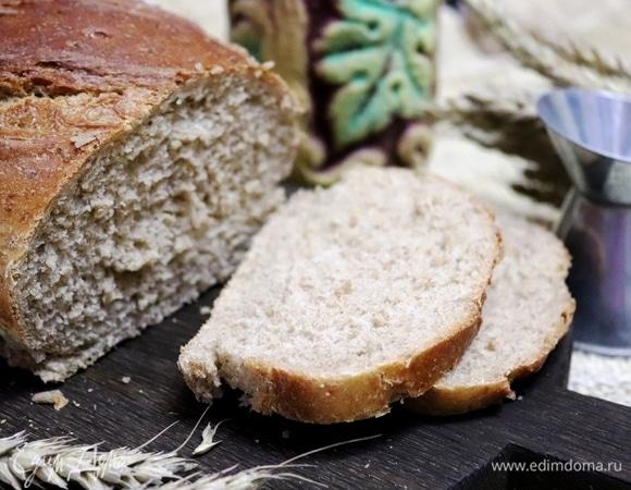 Серый хлеб с пшеничкой