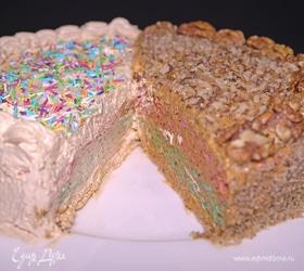 Вафельный торт «Два в одном»
