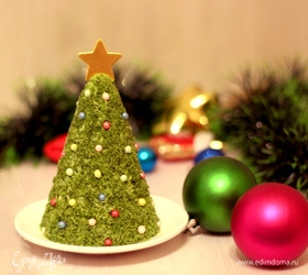 Пирожное «Новогодняя красавица»
