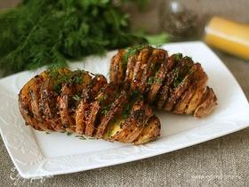 Картофель запеченный «Картошка-гармошка»