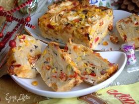 Пирог закусочный из лаваша