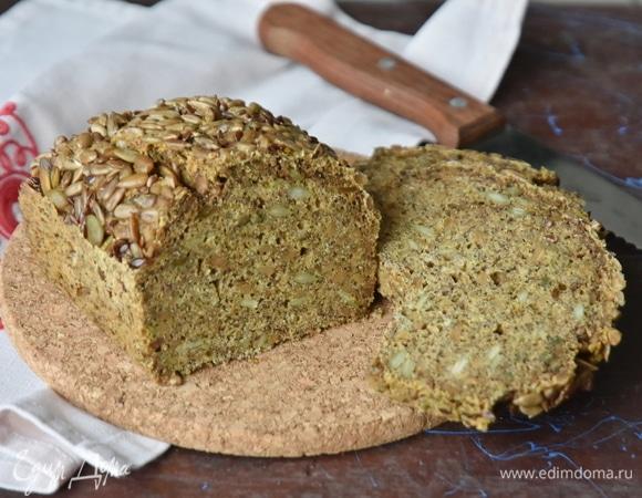 Зерновой хлеб без муки и дрожжей