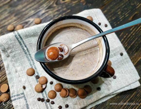 Мятное какао с шоколадом