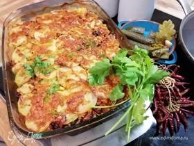 Чили кон карне под картофельной корочкой