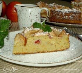 Яблочный пирог с красными апельсинами и рикоттой