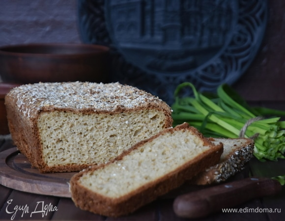 Хлеб на муке из овсяных отрубей по диете Дюкана