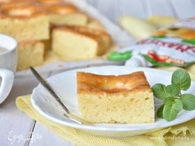 Итальянский пирог с абрикосовым джемом