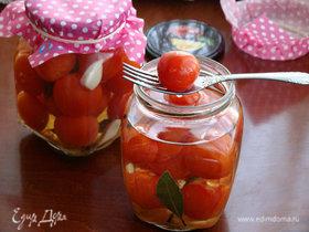 Маринованные помидоры в СВЧ-печи