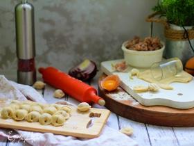 Тесто для пельменей на желтке