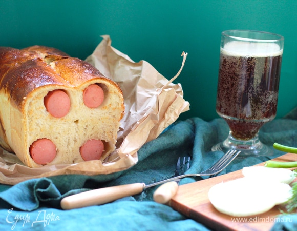 Хлеб «Сосиска в тесте»