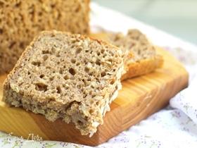 Ржаной хлеб с семечками на закваске