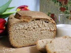 Цельнозерновой хлеб на ряженке