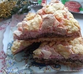 Разноцветный пирог с начинкой