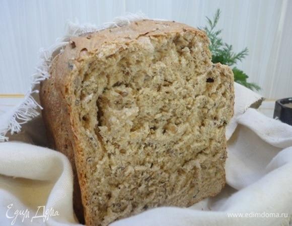 Зерновой хлеб на темном пиве