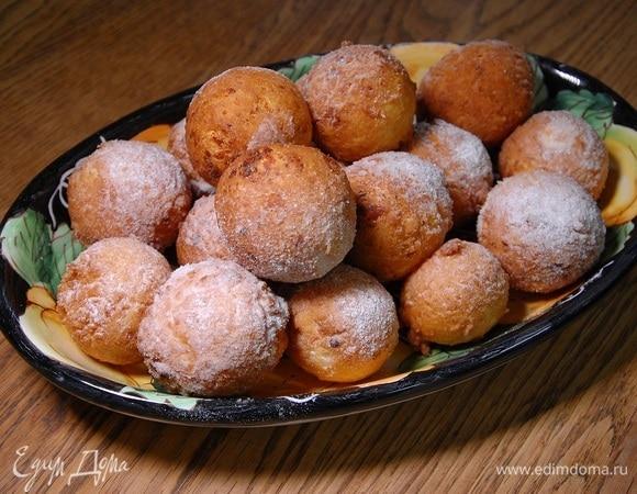 Пончики из зерненого творога