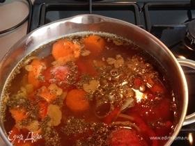 Шурпа (узбекский суп)