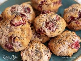 Печенье с клубникой и полезными семенами