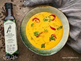 Крем-суп из моркови и болгарского перца