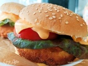 Морской фишбургер