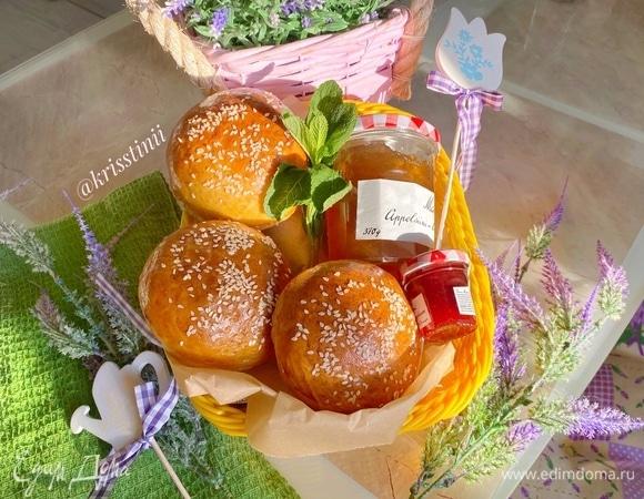 Вкуснейшие булочки для бургеров или завтрака
