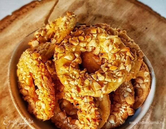 Колечки с арахисом