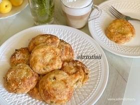 Сырные пончики из цельнозерновой муки