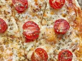 Пиццетта на домашнем бездрожжевом тесте