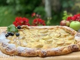 Любимый яблочный пирог Пушкина