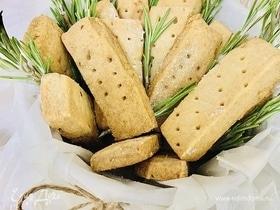 Песочное печенье с розмарином