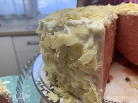 Арбузный торт со сливочным сыром