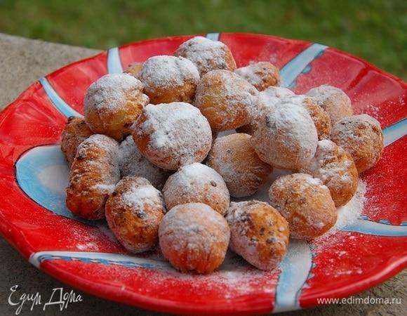 Творожно-лимонные пончики