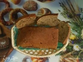 Хлеб с оливками и ржаными отрубями