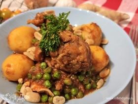 Томатное рагу с курицей «Гарам масала»