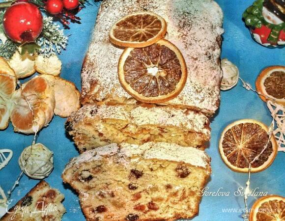 Рождественский апельсиновый кекс