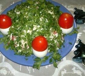 Салат «Полянка»