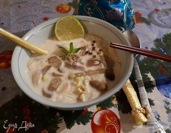 Суп «Том Кха Гаи»