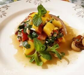 Тайский салат из манго