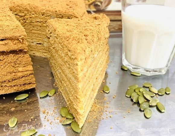 Медовый торт «Идеал»