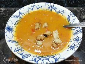 Суп-пюре из тыквы с молоком