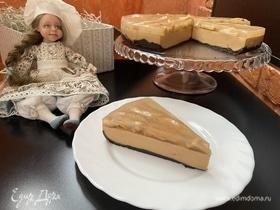 Торт-чиз «Карамельные яблочки»