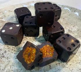 Шоколадные конфеты с орехами и ягодами годжи