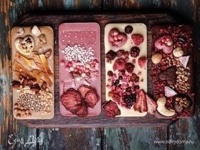 Шоколадная плитка handmade