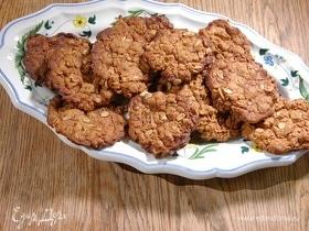 Овсяное имбирное печенье
