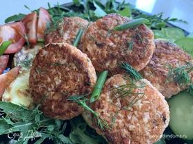 Блюда из крабовых палочек