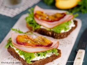 Бутерброды с нектарином